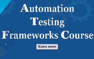 Automation Testing Courses