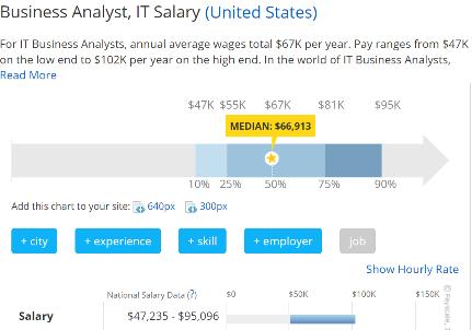 Business plan writer salary