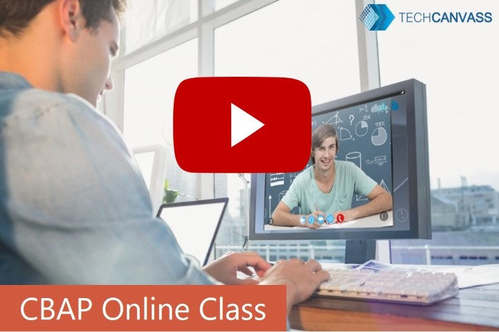 CBAP Online class preview