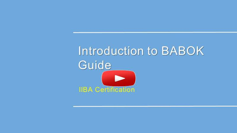 Ecba Certification Training Iiba Approved Business Analyst Course